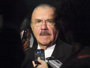 Presidente do Senado, José Sarney, concede entrevista nesta quinta-feira (10) (Foto: Jane de Araújo/ Agência Senado)