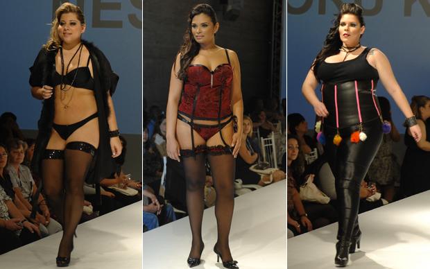 Modelos Plus Size (Foto: Divulgação)