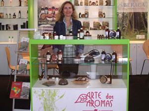 Arte dos Aromas precisou participar de feiras internacionais para inicar exportações (Foto: Divulgação)