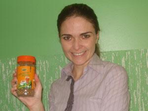 Chá mate orgânico solúvel é aposta de Paola Ceni (Foto: Divulgação)