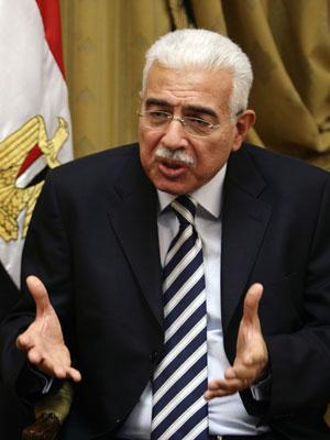 O ex-premiê Ahmed Nazif (Foto: Reuters)