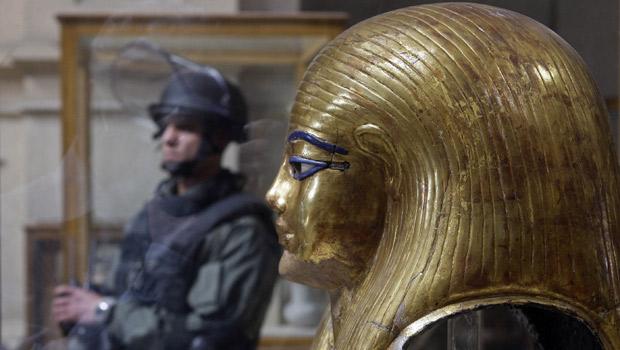 Oito objetos foram roubados no Museu Egípcio do Cairo, diz diretor (Steve Crisp / Reuters)