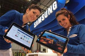 Novo tablet da Samsung, o Galaxy Tab 10.1 (Foto: Divulgação)