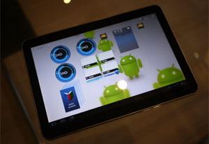 Novo Galaxy Tab (Foto: Leopoldo Godoy/G1)