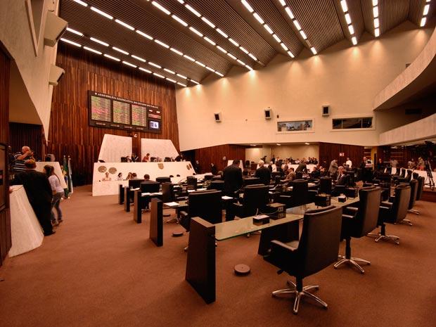 Assembleia Legislativa do Paraná (Foto: Vinícius Sgarbe/ G1 PR)