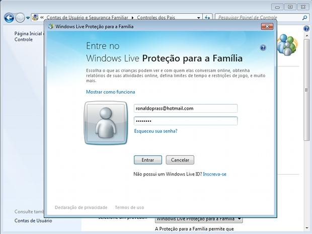 Definindo qual será o usuário com privilégios de administrador (Foto: Reprodução)