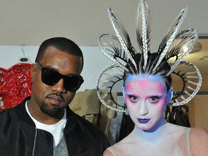 Kanye West e Katy Perry (Foto: Divulgação)