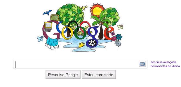 Desenho vencedor do concurso doodle 4 google (Foto: Reprodução)