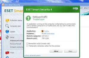 """Antivírus que incluem firewalls podem ficar bastante """"chatos"""" nas configurações que exigem confirmação do usuário para tudo. (Foto: Reprodução)"""