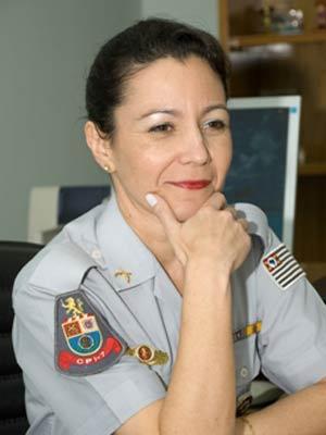 Coronel Fátima Ramos Dutra de Sorocaba (Foto: Polícia Militar/Divulgação)