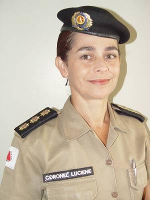Subchefe do Estado Maior de Minas Gerais, coronel Luciene Magalhães de Albuquerque (Foto: Divulgação/Assessoria de comunicação da PMMG)