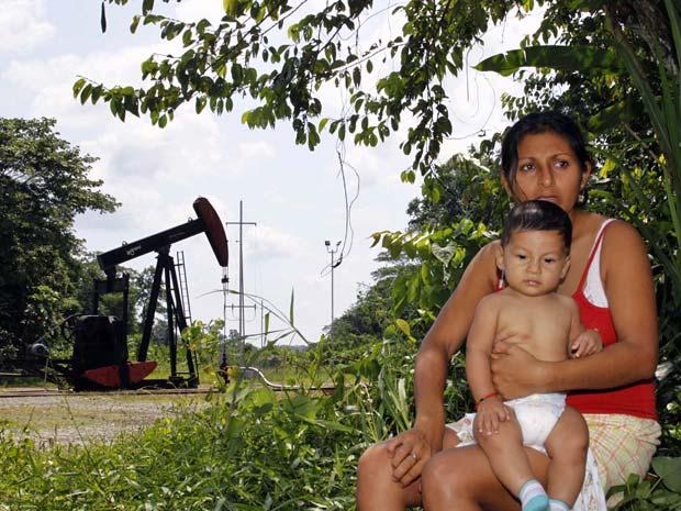 equador chevron (Foto: Guillermo Granja/ Reuters)