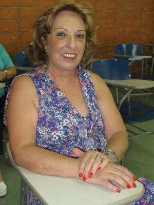 Gilda terceira idade (Foto: Vanessa Fajardo/G1)