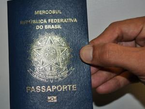Passaporte eletrônico (Foto: Divulgação/DPF-PE)