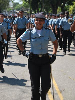 Priscilla assumiu recentemente o comando das UPPs (Foto: Analder Lopes / Ascom Seseg)
