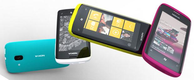 Protótipo de celulares da Nokia com Windows Phone 7, ainda sem especificações e sem data de lançamento anunciados pela companhia finlandesa, que anunciou parceria com a Microsoft na última semana (Foto: Divulgação/Nokia)