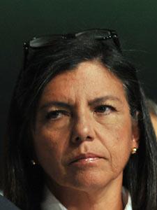 A governadora Roseana Sarney, em imagem de junho do ano passado, durante a convenção do PMDB (Foto: Valter Campanato / Agência Brasil)