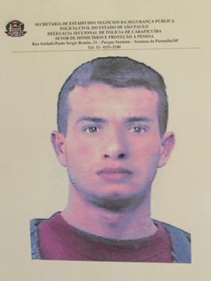 Retrato falado de segundo suspeito foi divulgado nesta quinta (Foto: Reprodução)