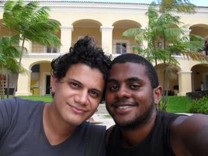 João e Thiago reclamam da atitude de segurança no cinema (Foto: Arquivo pessoal)