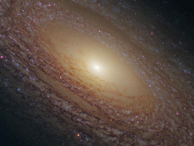 Galáxia NGC 2841 Ursa Maior (Foto: Nasa / ESA)