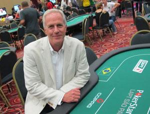 Celso Forster, organizador do LAPT, diz que profissionais sofrem preconceito por quem considera pôquer jogo de azar (Foto: Gustavo Petró/G1)