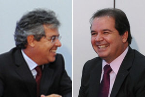 O senador Jorge Viana (esq.) e o governador Tião Viana em Brasília, em julho de 2010 (Foto: Roosewelt Pinheiro / Agência Brasil)