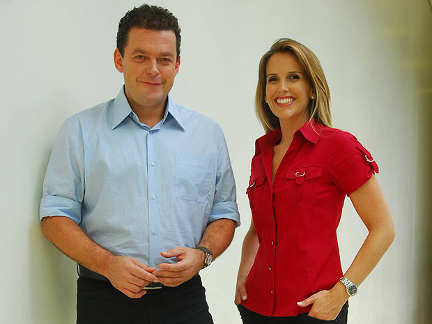 Fernando Rocha e Mariana Ferrão são os apresentadores (Foto: Divulgação/TV Globo)