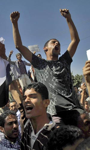 Veja imagens dos protestos no Oriente Médio e no Norte da África (AP)