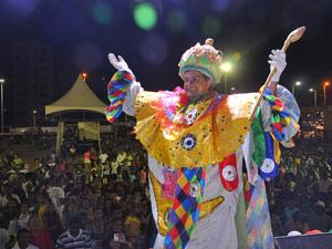 Rei Momo Salvador (Foto: Rita Barreto/Setur-BA)