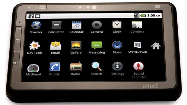 i-MXT primeiro tablet desenvolvido e montado no Brasil, da empresa MXT Holding (Foto: Divulgação)