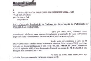 golpe da lista telefônica (Foto: Divulgação/Arquivo Pessoal)