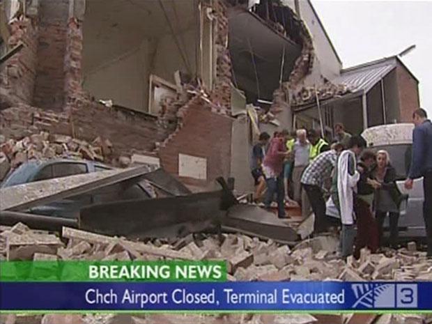 Terremoto atinge Nova Zelândia (Foto: Reuters)