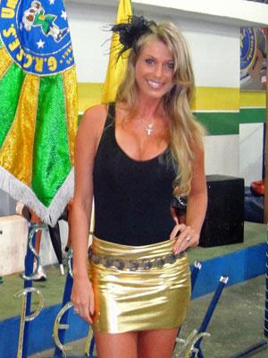 Caroline Bittencourt (Foto: Divulgação/Unidos do Peruche)