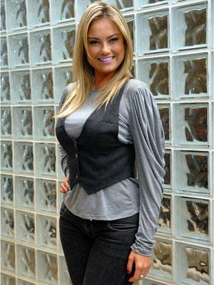 Ellen Rocche (Foto: TV Globo/Alex Carvalho/Divulgação)