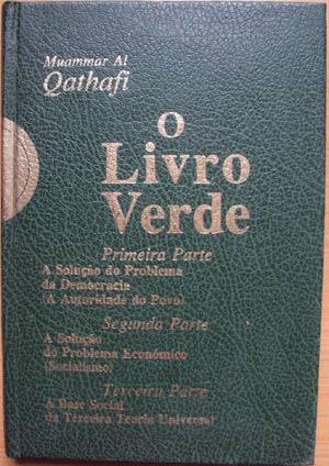 Imagem do 'Livro Verde', de Muamar Kadhafi (Foto: G1)