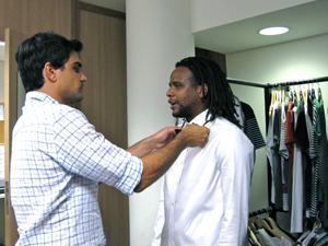 Pedro Cardoso e Tião Santos (Foto: Divulgação)