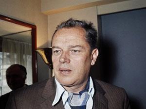 O escritor francês Jean Lartéguy (Foto: AFP)
