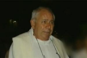 Corpo de padre foi reconhecido por familiares (Foto:  Reprodução TV GLOBO)