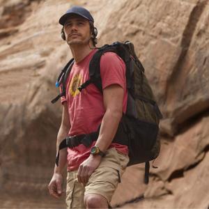 James Franco em cena de '127 horas'.  (Foto: Divulgação)