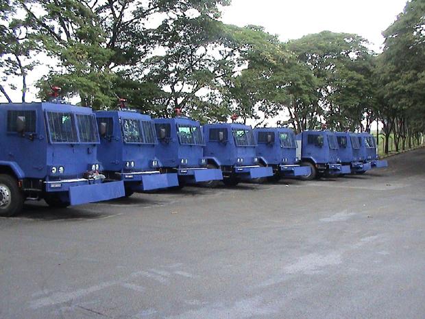 Blindados foram vendidos a Kadhafi (Foto: Divulgação)