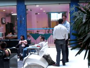 Hotel no interior da Bahia foi criado para ser ambiente de negócios para estrangeiros. (Foto: Ligia Guimarães/G1)