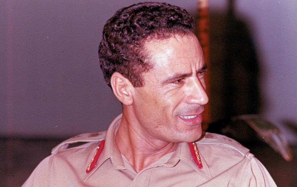 Muammar Kadhafi em 1970