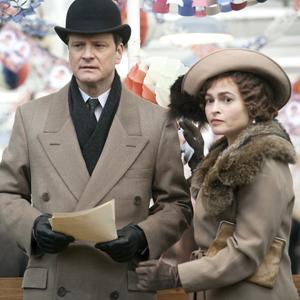 Colin Firth e Helena Bonham Carter em cena de 'O discurso do rei'. (Foto: Divulgação)