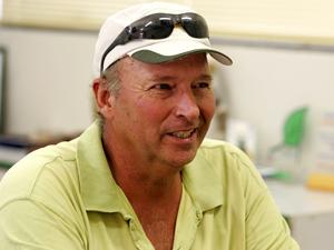 Mike Gretter, 55 anos, de Iowa, planta soja e milho na Bahia. (Foto: Hugo Harada/Gazeta do Povo)