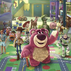 Cena da animação 'Toy story 3'.  (Foto: Divulgação)