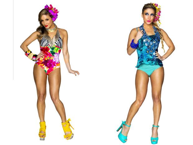 Claudia Leitte mostra roupas inspiradas no figurino de carnaval (Foto: André Schiliró/Divulgação)