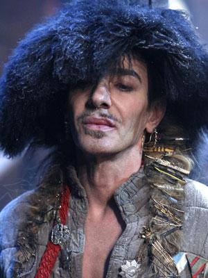 O estilista John Galliano (Foto: AP)
