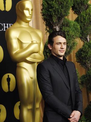 James Franco: anfitrião do Oscar também está na disputa por estatueta. (Foto: Reuters)