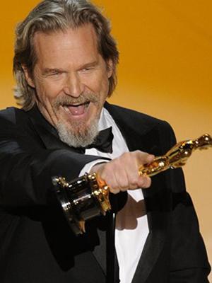 Jeff Bridges: Oscar em 2010 e chances de repetir a dose em 2011. (Foto: AP)
