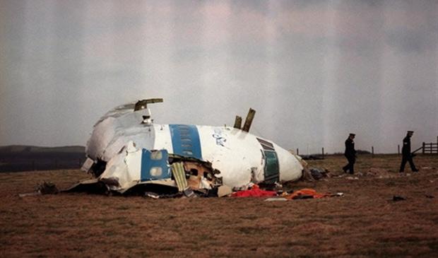Cabine do avião da Pan Am que sofreu atentado com 259 pessoas a bordo em Lockerbie, na Escócia, em 1988 (Foto: AFP)